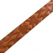 دستبند چرم طبیعی بلند و زیبا