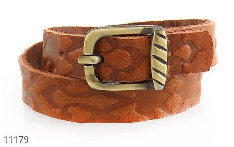 دستبند چرم طبیعی بلند و زیبا - 11179