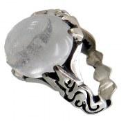 انگشتر نقره در نجف رکاب یاعلی مردانه