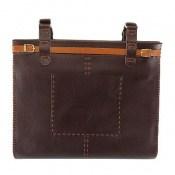 کیف چرم طبیعی طبیعی دست دور سایز بزرگ زنانه