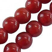 تسبیح عقیق 101 دانه قرمز ریز و خوش رنگ