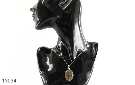 تصویر مدال فلورایت درشت و خاص طرح کلاسیک - شماره 9