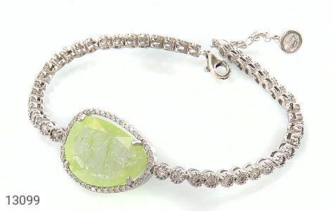 عکس دستبند نقره سلطنتی طرح پرنسس زنانه
