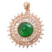 مدال نقره درشت طرح ملکه زنانه