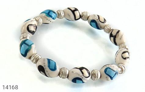 عکس دستبند استخوان مرصع زنانه
