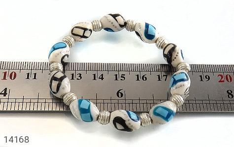 تصویر دستبند استخوان مرصع زنانه - شماره 5
