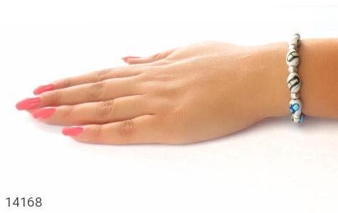 عکس دستبند استخوان مرصع زنانه - شماره 6