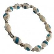 دستبند استخوان مرصع و خوش رنگ زنانه