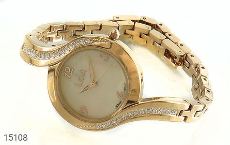 عکس ساعت لوجی دیانا Luigi Danna طلائی دورنگین زنانه