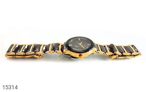 تصویر ساعت رادو سرامیکی RADO صفحه مشکی زنانه - شماره 2
