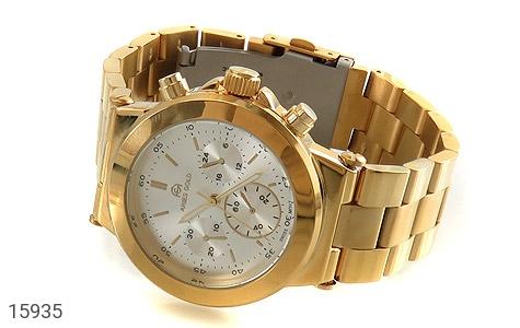 ساعت مچی طلائی صفحه سفید ARIES GOLD - 15935