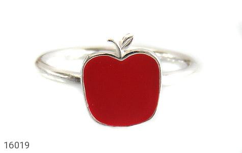 عکس سرویس نقره با زنجیر طرح سیب بچه گانه