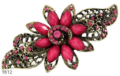 عکس گل سر طرح گل باز زنانه