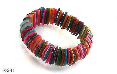 دستبند صدف رنگارنگ و جذاب زنانه - 16241