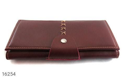 تصویر کیف چرم طبیعی دگمه دار - شماره 2