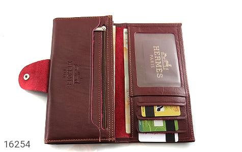 تصویر کیف چرم طبیعی دگمه دار - شماره 3
