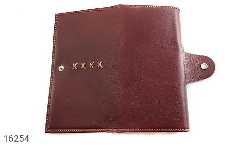 تصویر کیف چرم طبیعی دگمه دار - شماره 4