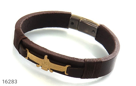 دستبند چرم طبیعی طرح فرورهر بند مگنتی - 16283