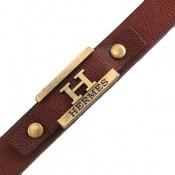 دستبند چرم طبیعی طرح هرمس