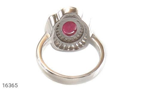 عکس انگشتر یاقوت سرخ طرح حنانه زنانه - شماره 4
