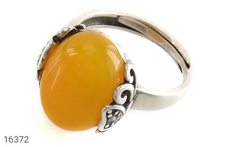انگشتر نقره عقیق شرف الشمس رکاب فری سایز زنانه - 16372