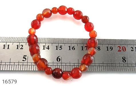 عکس دستبند عقیق خوش رنگ و جذاب زنانه - شماره 5