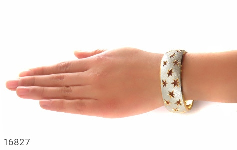 عکس النگو نقره تک پوش طرح ستاره سایز 3 زنانه - شماره 6
