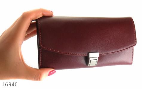 عکس ست چرم طبیعی سه تکه کیف جاسوئیچی آینه - شماره 8