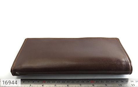 عکس کیف چرم طبیعی دسته چک زیپ دار - شماره 9