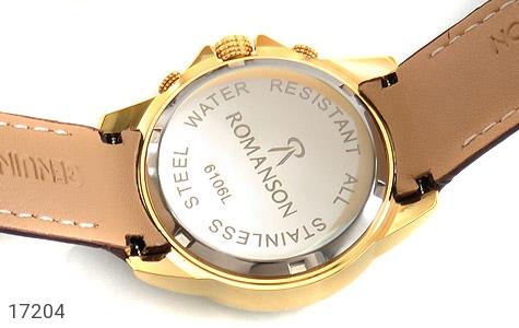 تصویر ساعت بند چرمی رمانسون Romanson کرنوگراف زنانه - شماره 4
