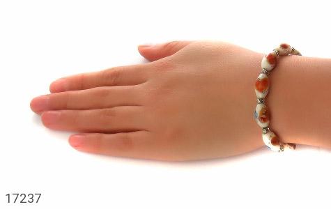 عکس دستبند استخوان زیبا و خوش نقش زنانه - شماره 5