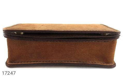 عکس کیف چرم طبیعی مدل دوشی طرح اسپرت و خاص - شماره 5