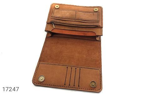 عکس کیف چرم طبیعی مدل دوشی طرح اسپرت و خاص - شماره 6