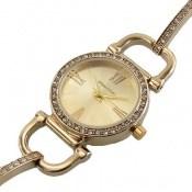 ساعت رمانسون Romanson طلائی دورنگین زنانه