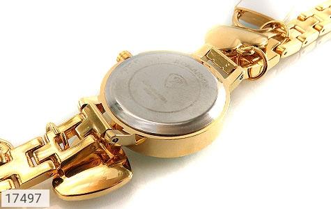 تصویر ساعت رمانسون Romanson طلائی آویز کلید قفل قلب زنانه - شماره 3