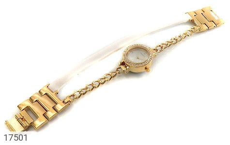 عکس ساعت رمانسون Romanson طلائی مجلسی طرح دستبندی زنانه