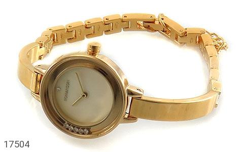 عکس ساعت رمانسون Romanson طلائی مجلسی زنانه