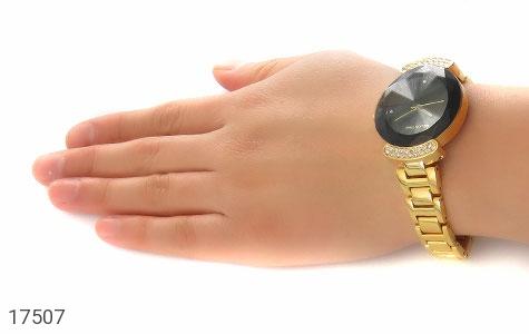 تصویر ساعت کلوین تایم Kelvin Time طلائی پرنگین مجلسی زنانه - شماره 6