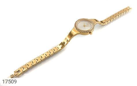 تصویر ساعت سواروسکی Swarovski دورنگین مجلسی طلائی زنانه - شماره 2