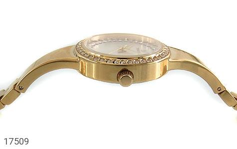 عکس ساعت سواروسکی Swarovski دورنگین مجلسی طلائی زنانه - شماره 3