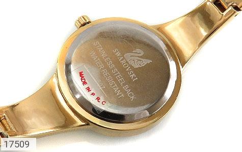 تصویر ساعت سواروسکی Swarovski دورنگین مجلسی طلائی زنانه - شماره 4
