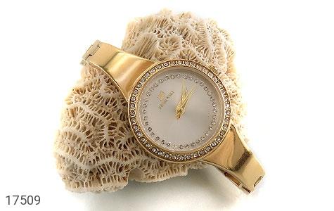 تصویر ساعت سواروسکی Swarovski دورنگین مجلسی طلائی زنانه - شماره 5