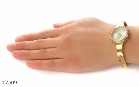 تصویر ساعت سواروسکی Swarovski دورنگین مجلسی طلائی زنانه - شماره 7