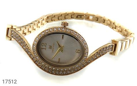 عکس ساعت سواروسکی Swarovski مجلسی پرنگین طلائی زنانه