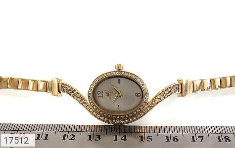 عکس ساعت سواروسکی Swarovski مجلسی پرنگین طلائی زنانه - شماره 4