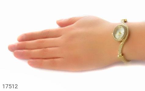 عکس ساعت سواروسکی Swarovski مجلسی پرنگین طلائی زنانه - شماره 5