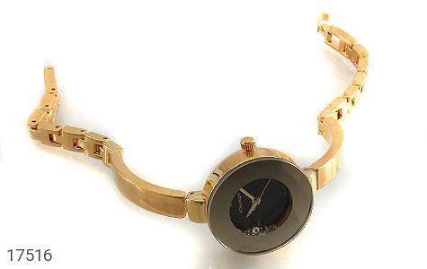عکس ساعت رمانسون Romanson مجلسی طلائی نگین متحرک زنانه - شماره 2