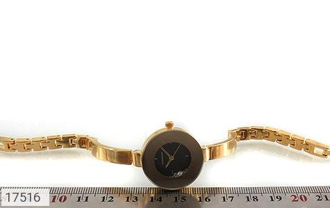 عکس ساعت رمانسون Romanson مجلسی طلائی نگین متحرک زنانه - شماره 4