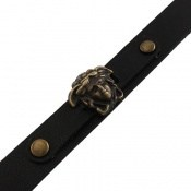 دستبند چرم طبیعی طرح فانتزی