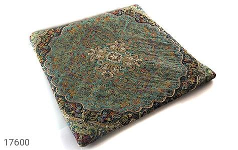 عکس ترمه رومیزی هفت رنگ سایز بزرگ طرح اسلیمی